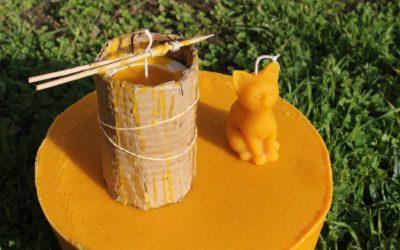 Pourquoi utiliser des bougies en cire d'abeille ?